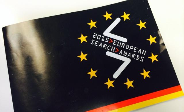 Image of EU Search Awards Berlin 2015 brochure