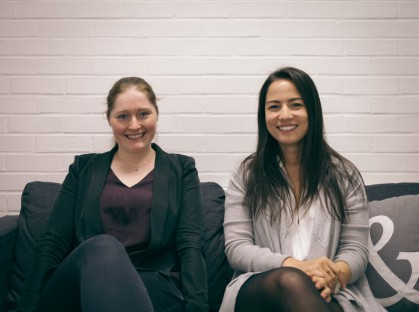 Austeja and Annelise join the team