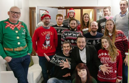Further raises money for charity on Christmas Jumper Day 2016