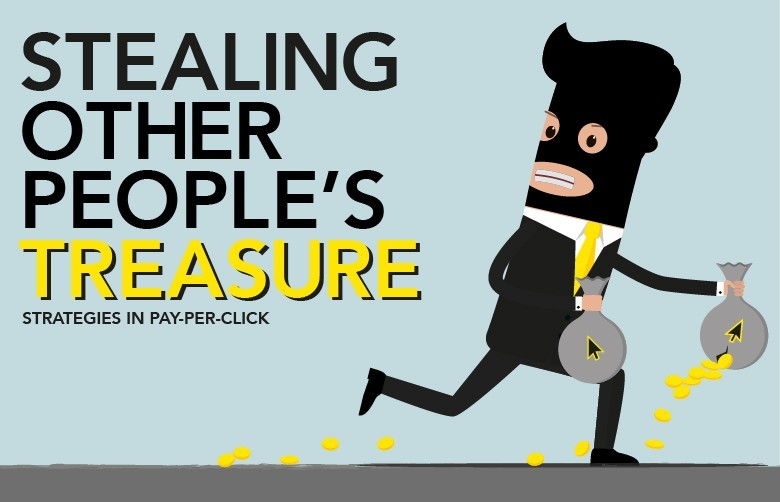 Stealing other people's treasure: competitor bidding strategies for PPC