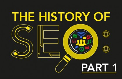 The History of SEO Part 1: Google search results and user experience