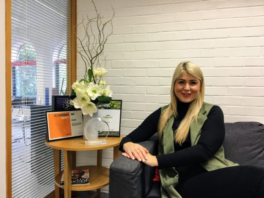 Office Manager Carly Stanforth