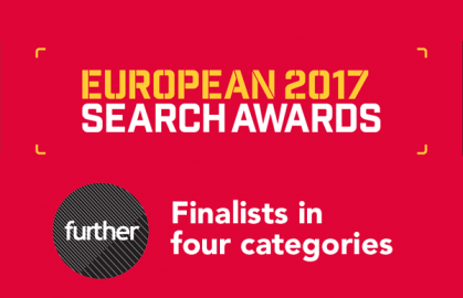 Further nominated for four European Search Awards