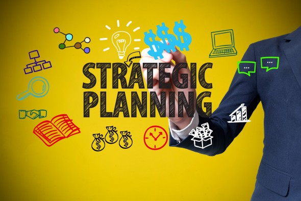 Further stock image for strategic planning