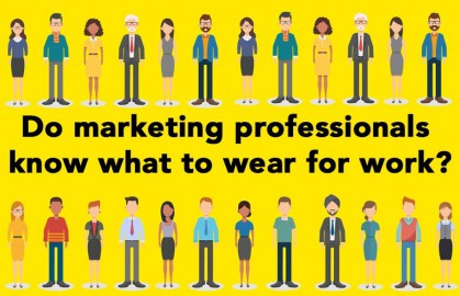 Do marketers know what to wear?