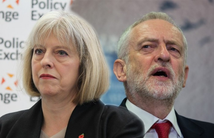 Theresa May v Jeremy Corbyn: what are people Googling?