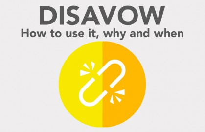 Link disavow – why, what and how?
