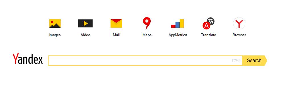 Yandex search свой дизайн