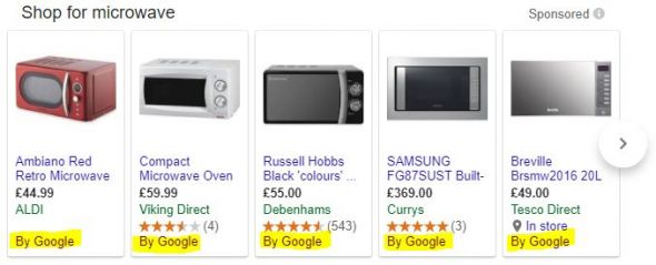 Google shopping monopoly example