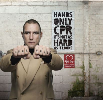 British Heart Foundation hands only cpr add for persuasive communication blog