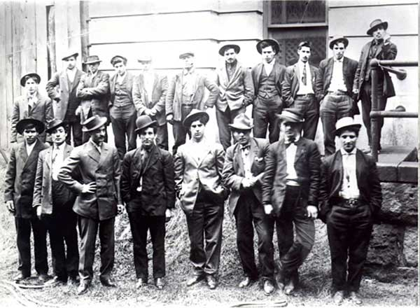 The Five Points Gang of New York City.