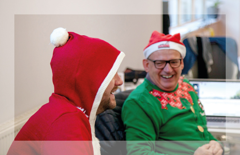 Further takes part in charity Christmas Jumper Day 2017