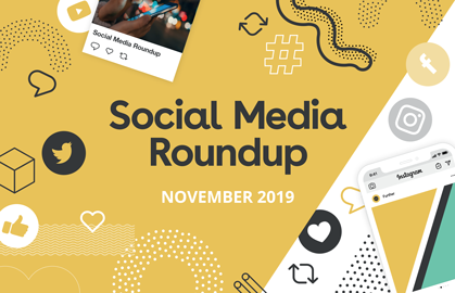 November Social Media Roundup
