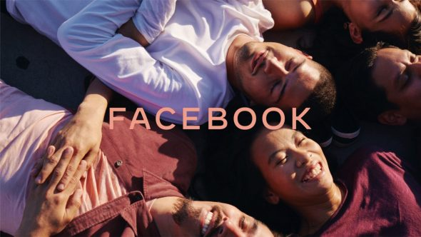 Example of Facebook branding