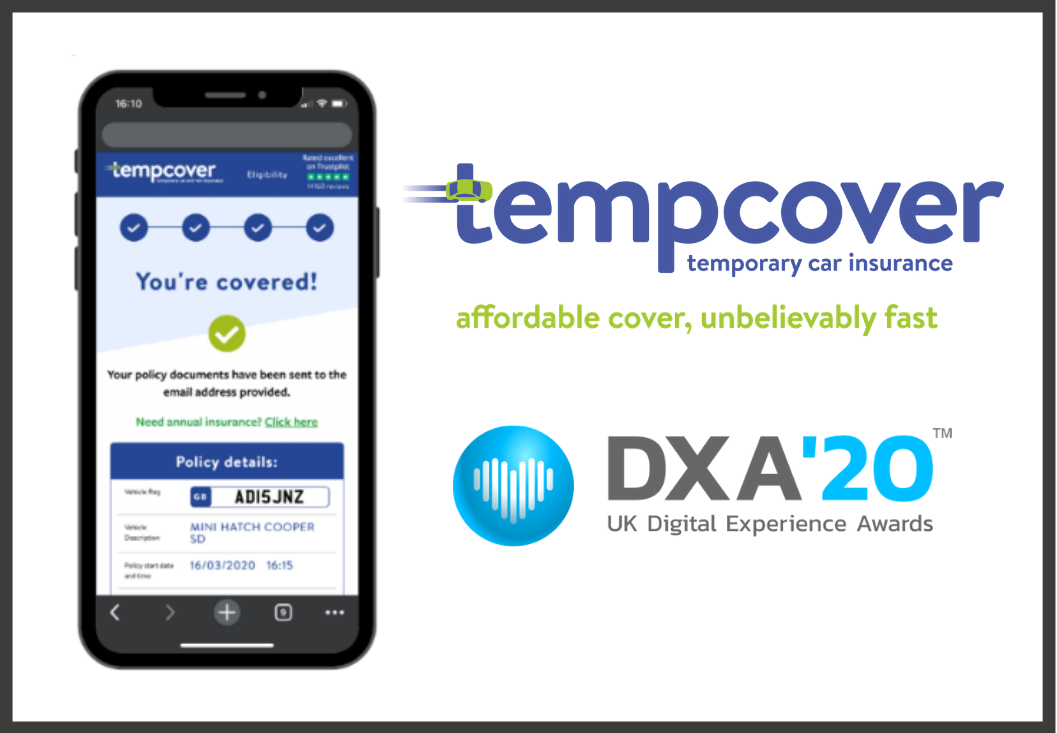 Tempcover win two gold awards at the DXA20 ceremony!
