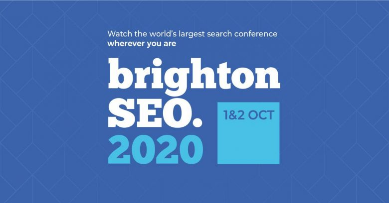 BrightonSEO 2020 was a virtual event